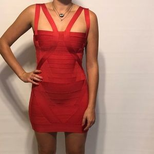Herve leger brand new with tags bandage dress